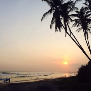 Sunset, Srí Lanka